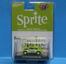 M2 Machines Auto-Thentics R - F01-SP01 Fanta & Sprite 1967 VW Beetle Deluxe USA