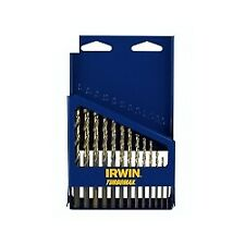 Hanson 73136 13 Piece SAE Turbomax® High Speed Steel Drill Bit Set