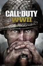 Call of Duty: WWII - Key Art  Wall Poster ~22x34 inches ~NEW~ FREE S/H