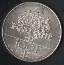 100 FR ARGENT 1987 LAFAYETTE COTE EN FDC 35 € VOIR PHOTO ET DESCRIPTIF