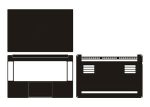 "Laptop Sticker Skin Decal Carbon fiber Cover for New 2019 Razer Blade 15 / 15.6"""