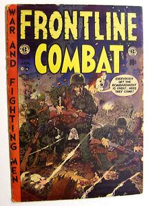 EC - JOHNNY CRAIG FILE COPY FRONTLINE COMBAT #14 WOOD - KUBERT - EVANS 1954!
