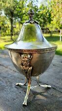 Antique Pre-1872 Italian 800 Silver Sugar Bowl 372 Grams