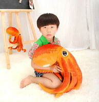 Giant Big The Octopus Plush Soft Toy Stuffed Animal Doll Birthday Gifts Handmade