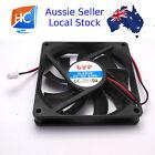 Brushless Case Fan 80mm x 80mm x 15mm 2pin 12V Cooling Fan - Aussie Seller