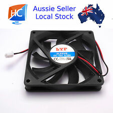 Brushless Case Fan 80mm x 80mm x 15mm 2pin 12V Cooling Fan - Aussie Seller