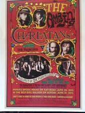 The Charlatans Poster 6-20 & 21-15 Red Dog Saloon Virginia City Nv. Dan Hicks