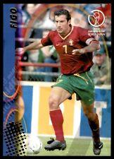 Panini World Cup 2002 Card - Figo Portugal No. 92