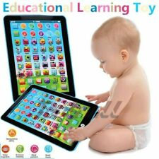 Educational Toys For Toddlers Newborn Baby Kids Boy Girl Learning Laptop Tablet
