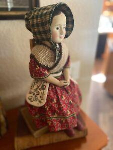17.5 inch Izannah Walker doll, by Russian artist Inna Razuvaeva