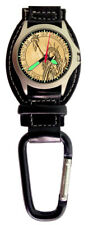 Aqua Force Statue of Liberty Gold Analog Carabiner Watch (30m Water Resistant)