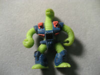 Vintage Battle Beasts #6 Triple Threat Snake With Rub 1986