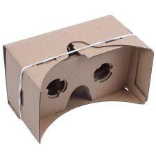 6 inch DIY 3D VR Virtual Reality Glasses Hardboard For Google Cardboard G9U1