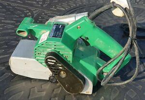 Hitachi SB75 2 speed belt sander, 240v, 950w, good working order