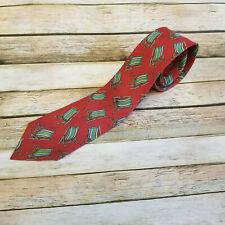 Polo Ralph Lauren Vintage Beach Chair Necktie Tie Made in USA EUC 100% Silk