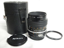 Nikkor 55mm f2.8 AI-S MICRO Lens Nikon +UV Filter+Hard Case Excellent CONDITION