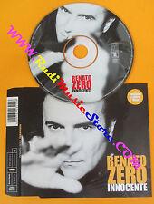 CD singolo RENATO ZERO innocente 2002 austria TATTICA TAT6726412 (S24) no mc lp
