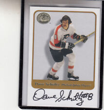 "2001-02 FLEER GREATS OF THE GAME DAVE SCHULTZ ""FLYERS/THE HAMMER"" AUTOGRAPH AUTO"