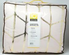 Intelligent Design Raina 5-Pc Metallic Comforter Set FULL / QUEEN - Blush / Gold