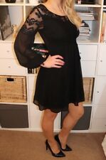 *Stunning* Black Sheer Lace Dress, Vero Moda, Size S, Hippie Party On Trend
