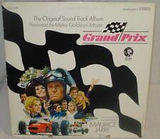GRAND PRIX (Maurice Jarre) rare original stereo lp (1966)