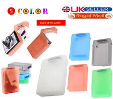 3.5 INCH Plastic SATA HDD IDE Hard drive Storage Enclosure Box Case 5 Colors