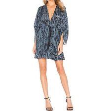 HOUSE OF HARLOW Dress sz S Bird Print 1960 x REVOLVE Kimono Sleeve NEW NWT