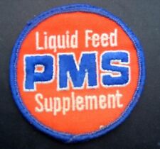 """LIQUID FEED SUPPLEMENT PMS EMBROIDERED SEW ON ONLY PATCH FARM COMPANY 3"""""""