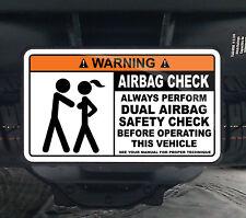 Dual Airbag Check Hitch Cover Duramax 2500 3500 HD 4x4