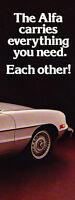 1980 Alfa Romeo Spider Veloce Sales Brochure - 8-sided