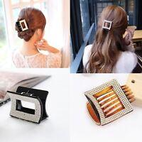 Hot Fashion Korean Style Women Crystal Acrylic Hair Claw Clips Hair Accessories