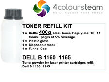 400g TONER REFILL FOR DELL B 1160 1165 ( 593-11108 )