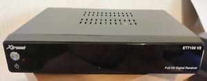 Xtrend ET 7100 V2 HD, DVB-C, DVB-T2 Tuner, H265, openATV6.4, HDMI,USB