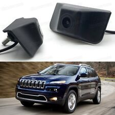 Full HD CCD Car Grill Front View Camera Embedded for Jeep Cherokee 2014-2017