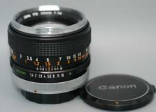 Canon 50mm f1.4 FD-SC fast manual focus lens - Nice Ex++!