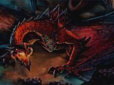 MTG YUGIOH Playmat Artists of Magic Custom  SMELTH THE RED DRAGON