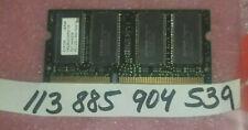 256MB 2Rx16 PC133 CL3  3.3V 144PIN NON-ECC SODIMM  DUAL RANK 16x16 UNBUFFERED