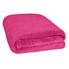 Couverture douillette Plaid dormir 150 x 200 cm lit canapé couvre neuf