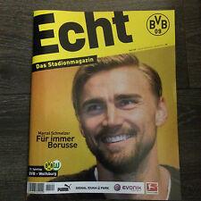 BVB@BORUSSIA DORTMUND@Stadionmagazin ECHT@Heft 109@BVB-Wolfsburg@M.Schmelzer