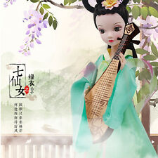Pretty China Ancient Green Tianyu Fairy Of Kurhn Chinese Barbie Doll Figure Toy