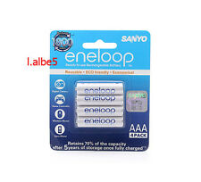 Sanyo Eneloop 800mAh AAA LSD Precharge NiMH Rechargeable Battery HR-4UTGB 4pc 3A