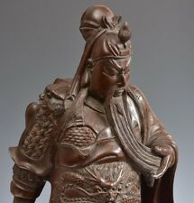 A Large Chinese Antique Carved Wooden Statue.