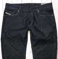 Mens DIESEL Waykee Jeans W31 L32 Blue Regular Straight Wash 0088Z