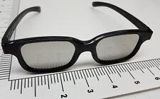 Pair of the real deal 3D Black Frame Steve Urkel Nerd movie after show glasses