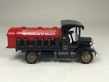 Standard Oil Company Diecast Red Crown Gas Tanker Truck No. 10 Red Black Chevron