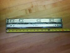 """5 pair 16"""" metal ball bearing drawer slide - unopened, sealed in the bag"""