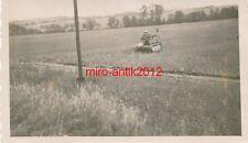 Foto, Soldat R. Heed, Kraftfahrersatzabt. 10, franz. Tank, Gray, Frankreich 1940