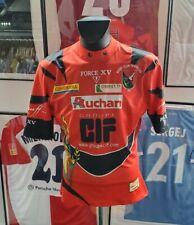 Maillot jersey shirt camiseta rugby club trignacais trignac worn porté france XL