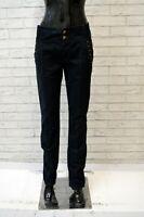 ICEBERG Donna Jeans Blu Taglia Size 48 Pantalone Slim Pants Woman Casual