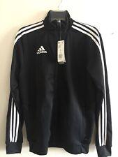 Adidas Tiro 19 Training Jacket Black White Size Small Men's Only